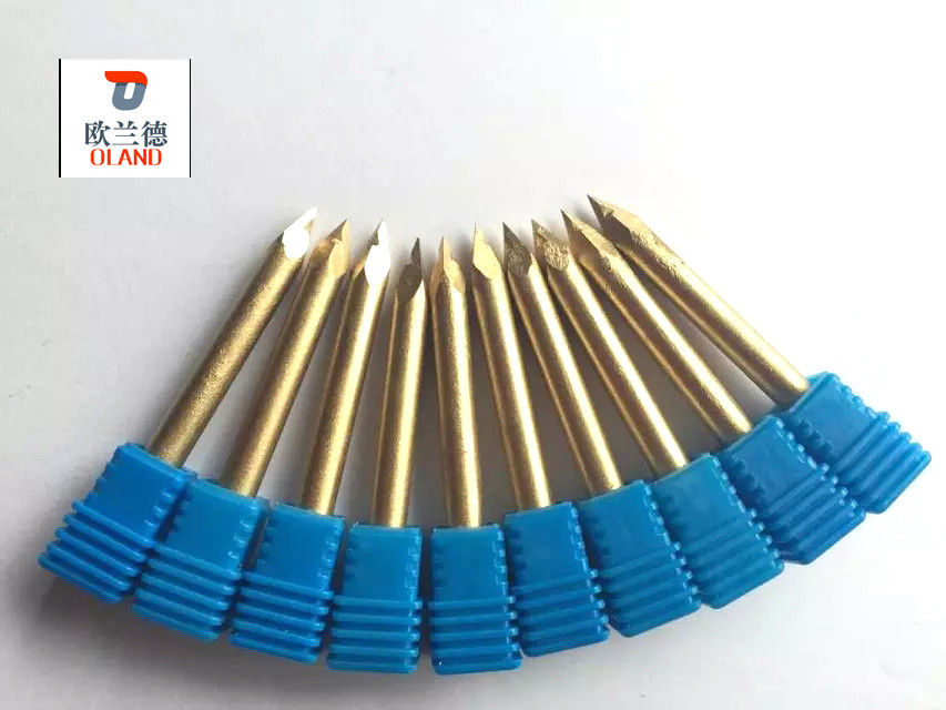 Carbide Alloy High Speed Engraving Tools , Engraving Bits For CNC Router